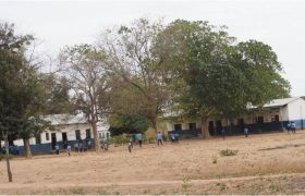 The school and the playground